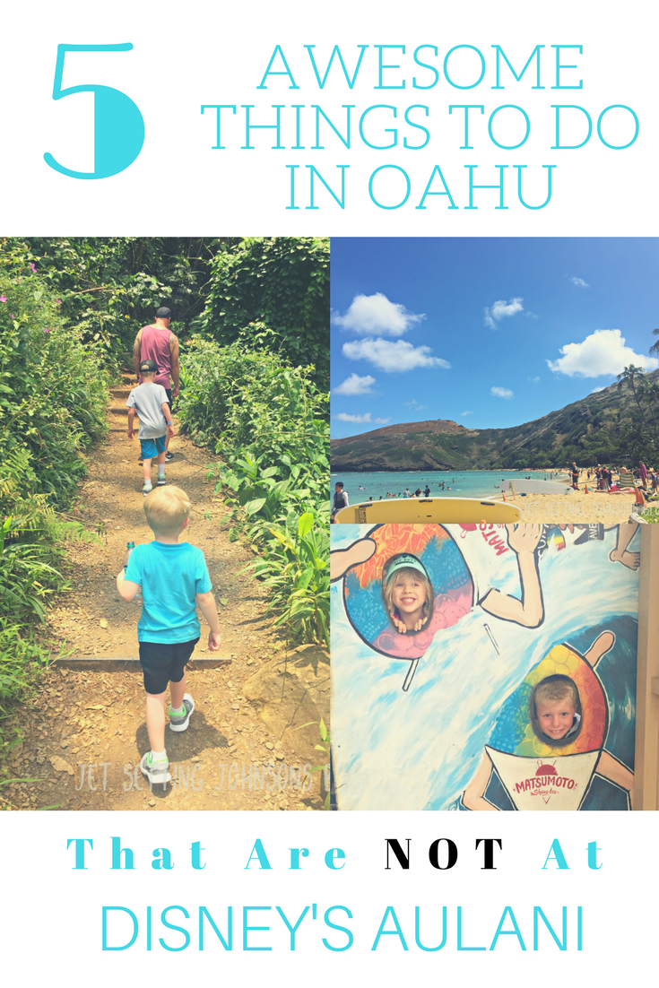 5 Awesome Things to do in Oahu that Aren't at Aulani (With