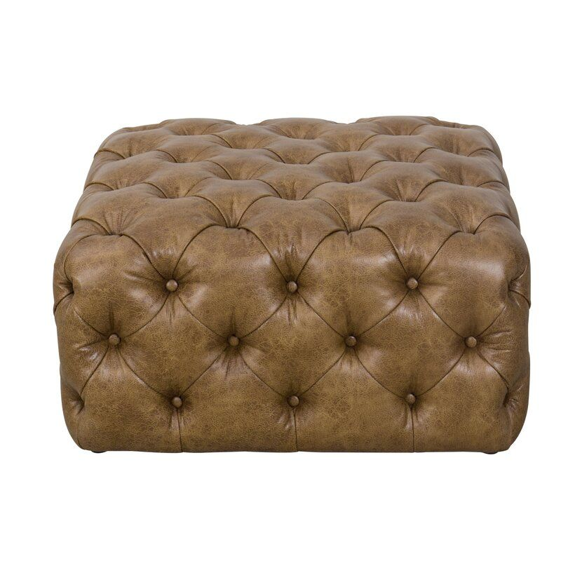 Rochford All Over Tufted Cocktail Ottoman In 2020 Tufted Ottoman Cocktail Ottoman Tufted