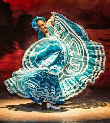 Beautiful Folklorico Dancer