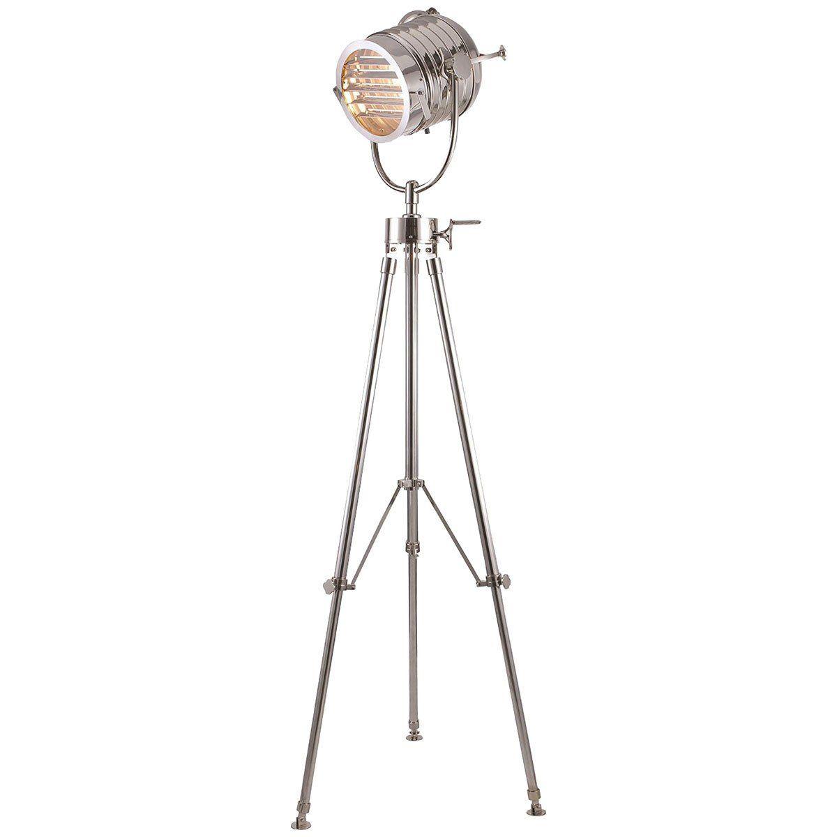 Elegant Lighting Ansel Tripod Chrome Floor Lamp