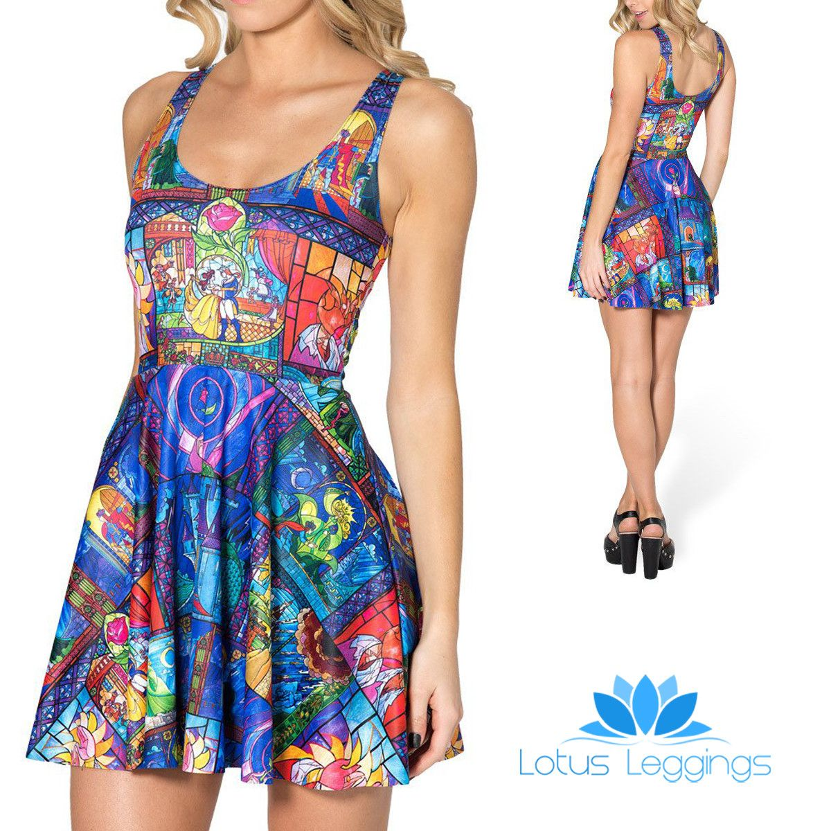0b9e5428dd5264 Kid's Mermaid Skater Dress | Fashion and Beauty | Skater style dress ...