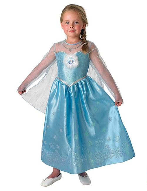Disney's Frozen Elsa Deluxe Kids Costume Licensed Product from Helena