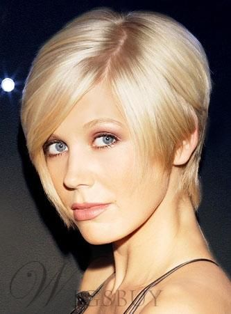 Custom Elegant Celebrity Hairstyle Carefree Top Quality 100% Human ...