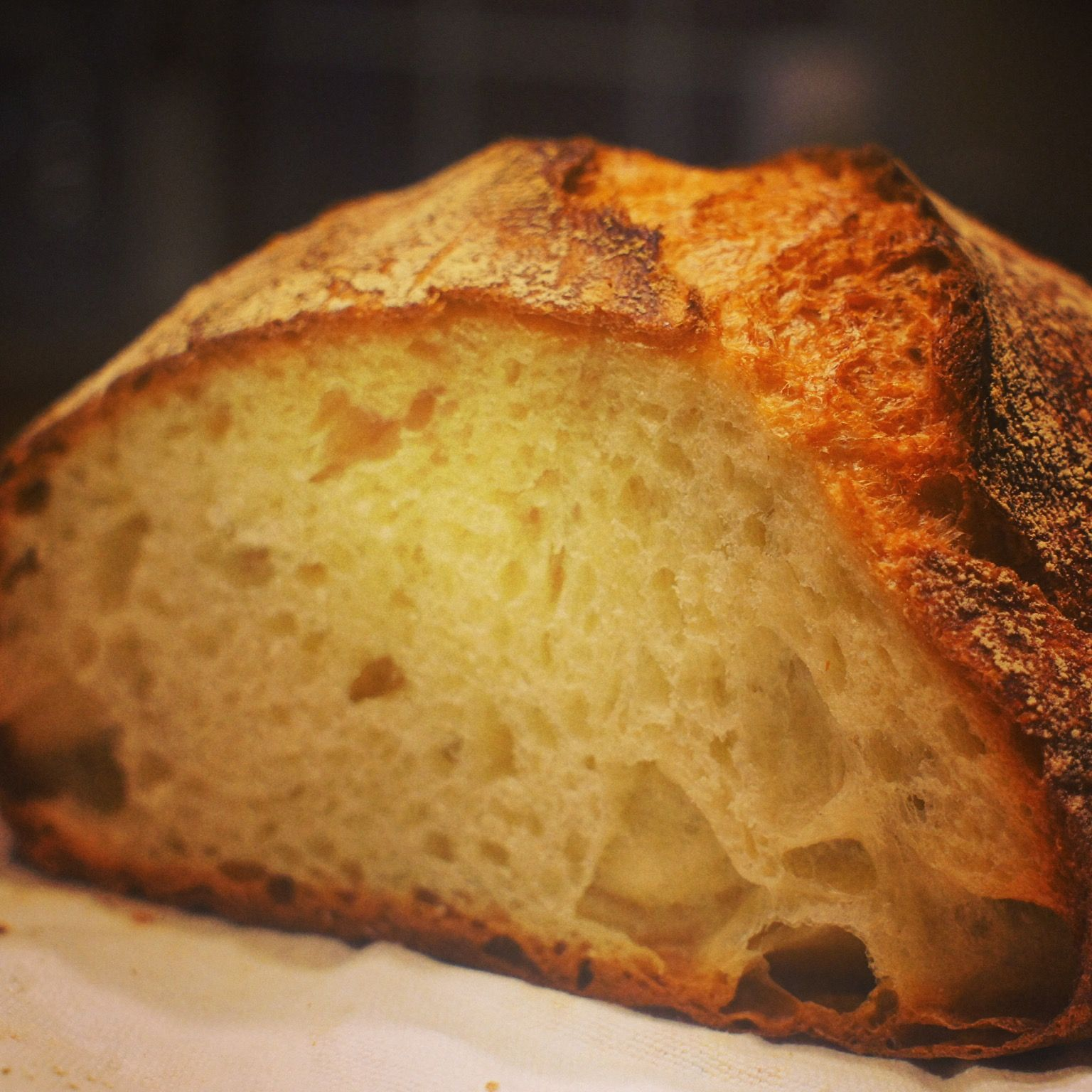another sourdough bread recipe ... cooked in cast iron ...