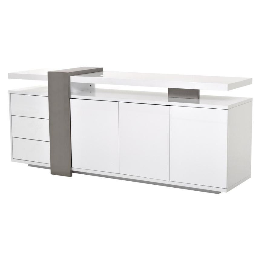 Totem White Sideboard El Dorado Furniture 1000 Tv Stand White Sideboard Adjustable Shelving White Cabinets