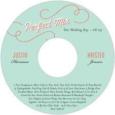 music cd labels