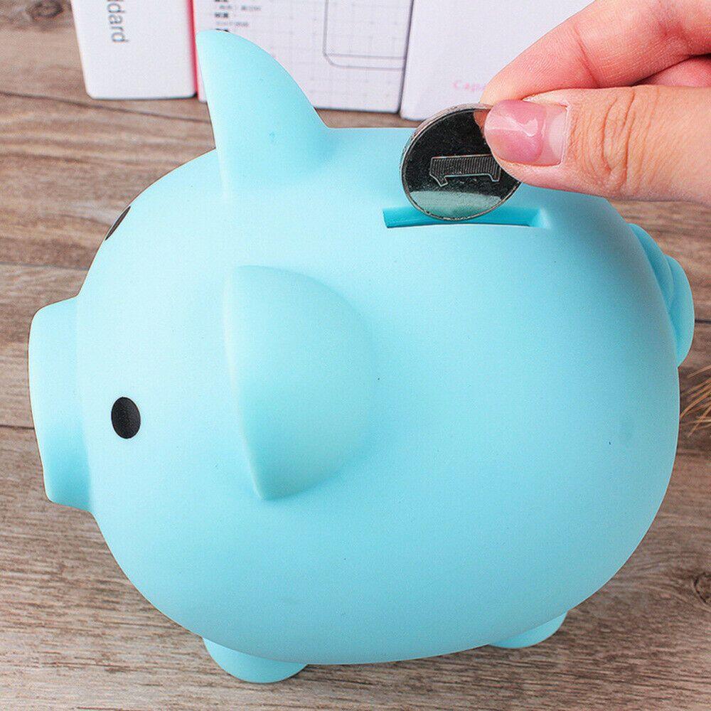 Details About Plastic Piggy Bank Coin Money Cash Collectible