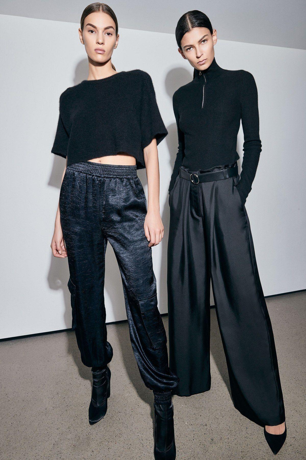 Sally LaPointe Pre-Fall 2019 Fashion Show #fall2019fashiontrends