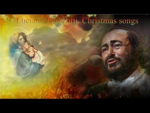 Luciano Pavarotti Christmas songs .HD