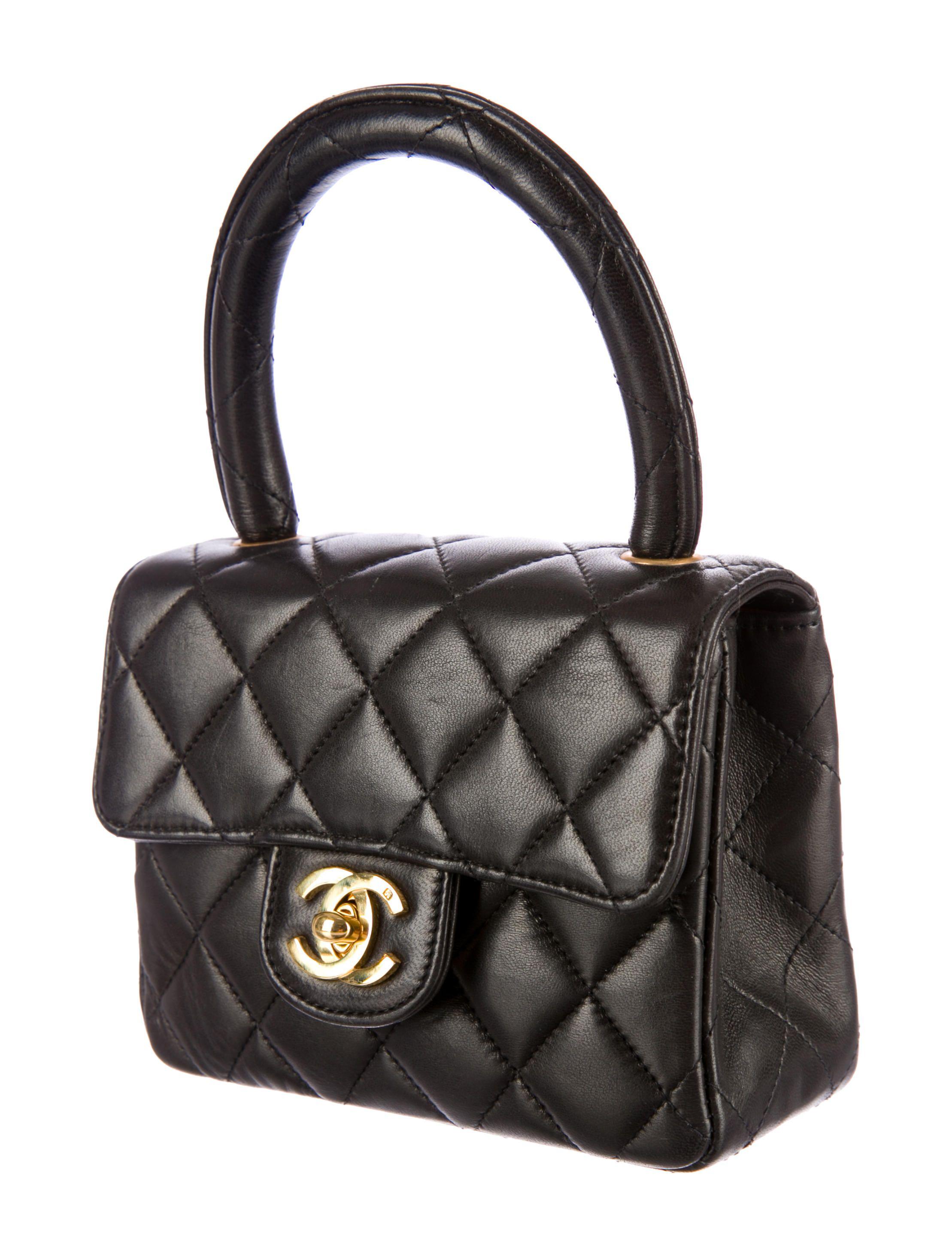 Chanel Mini Kelly Bag Vintage Chanel Bag Chanel Bag Chanel Handbags