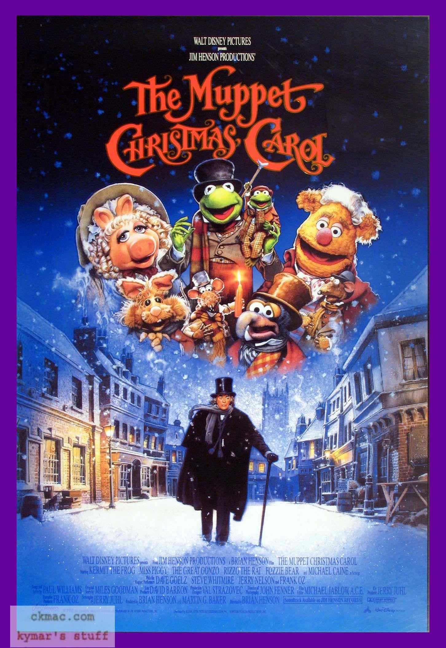 'The Muppet Christmas Carol' (1992) | Muppets christmas, Best christmas movies, Christmas movies