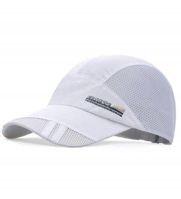 GADIEMENSS Quick Dry Soft Brim Lightweight Breathable Running Sport Caps