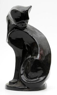 deco cat sculpture - Google Search
