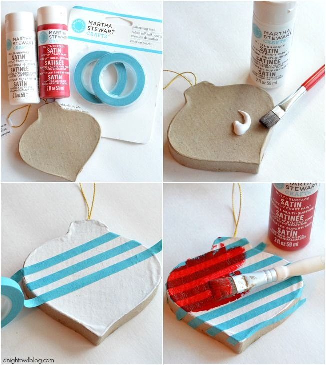 Easy Christmas Ornament Ideas with Martha Stewart Crafts | how to ...