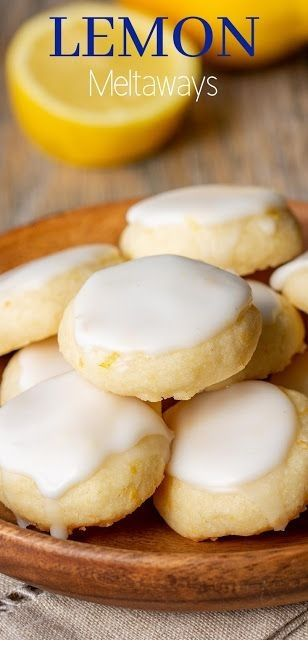 Lemon Meltaways  #quickcookierecipes