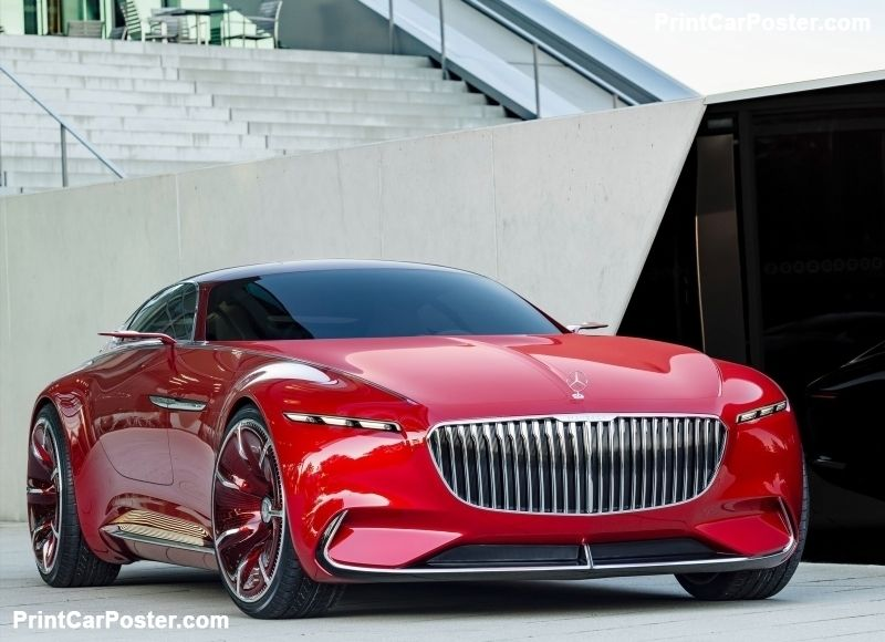 Mercedes benz vision maybach 6 concept 2016 poster for Mercedes benz poster