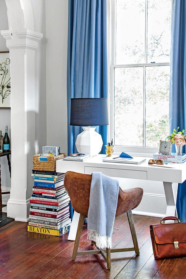 Lean on a book stack 50 best small space decorating tricks we learned in 2016