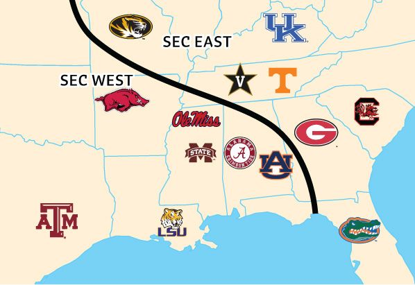 Southeastern Conference  Southern by the Grace of God