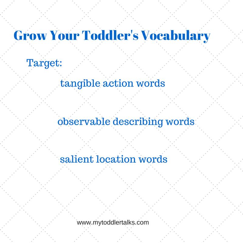 Grow Your Toddler's Vocabulary