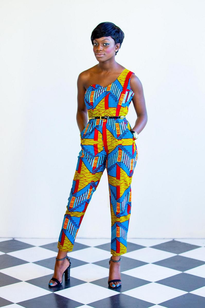 Design Of A Diaspora Kaleidoscope Jumpsuit By ...