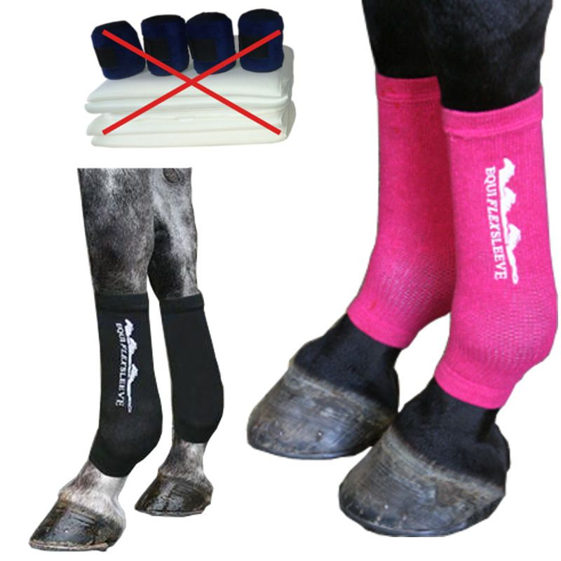Chaussettes contention cheval innovation equi flexsleeve