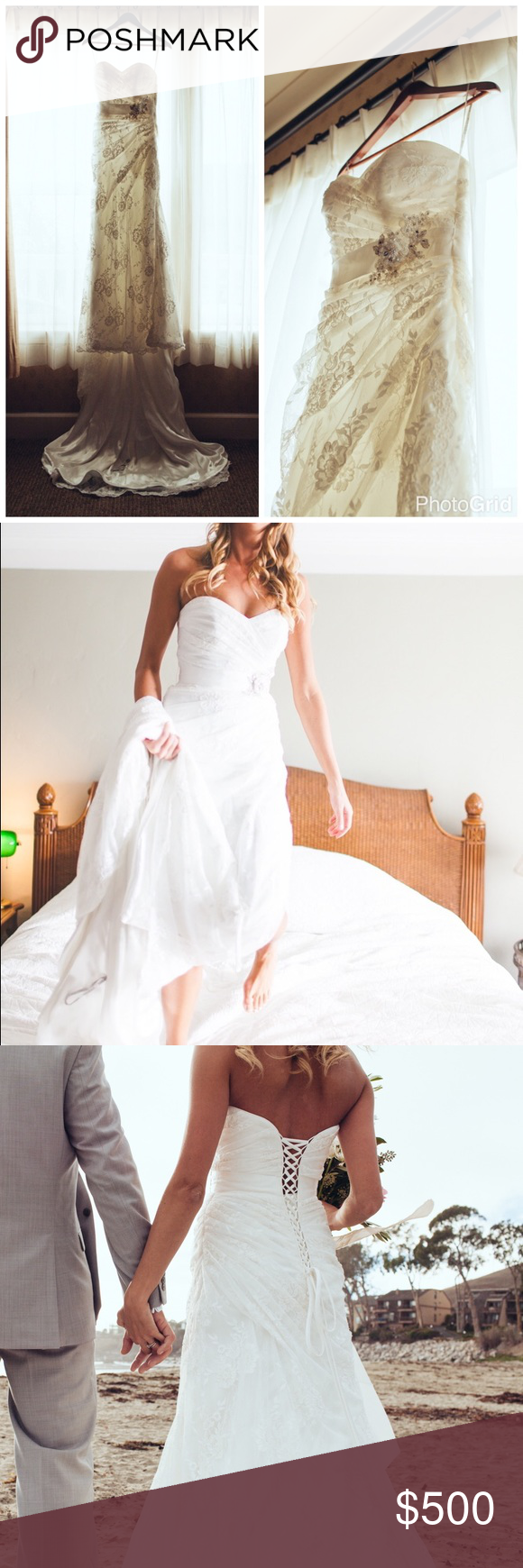 Wedding dress cups  Maggie Sottero uMyrau wedding dress  My Posh Picks  Pinterest