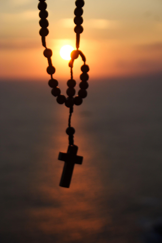 Imagen Catolica Rosario Sol Virgen Creacion Faith Rosary Com