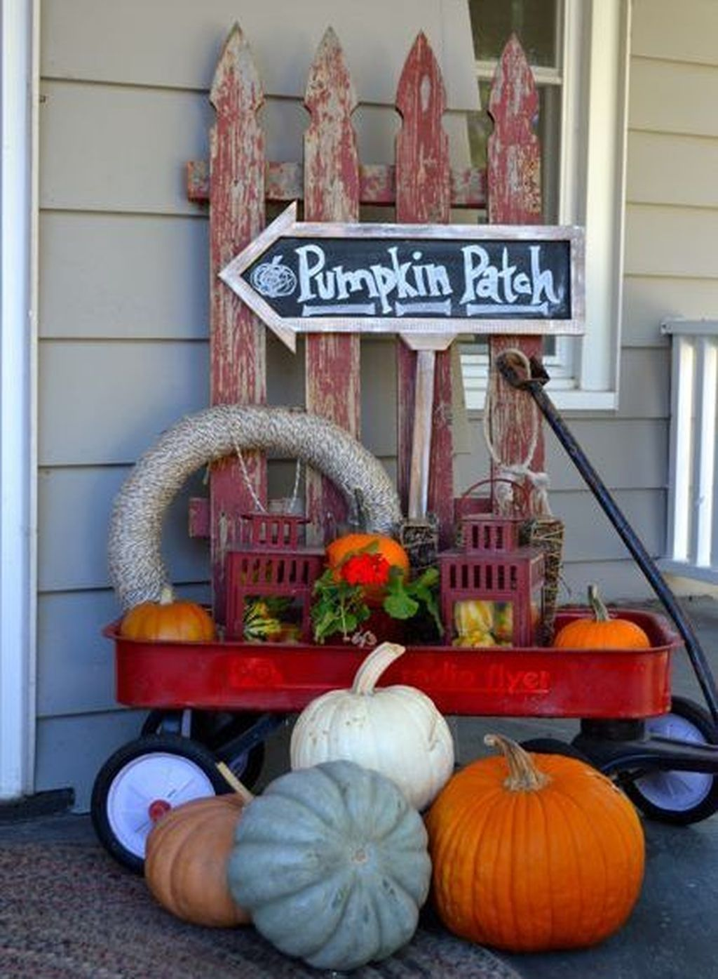 Awesome 45 Cheap Diy Fall Outdoor Decor Ideas To Your Inspire Fall Decorations Porch Fall Outdoor Decor Fall Porch