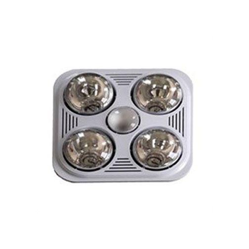 A716R W Quiet Bathroom Heater Fan Light By Aero Pure | A716R W