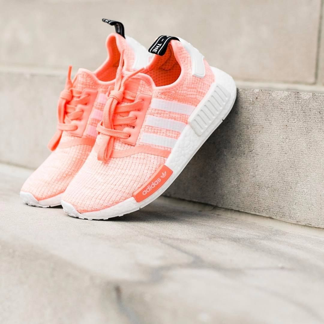50a3d76e76ba9 NMD R1 SUN GLOW · Nmd R1Trendy ShoesAdidas ...