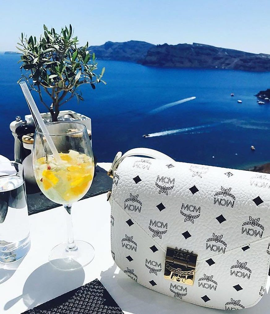Current out-of-office views. Tap the image to shop or click the link in bio. #NMhandbags #NeimanMarcus #regram @mcmworldwide