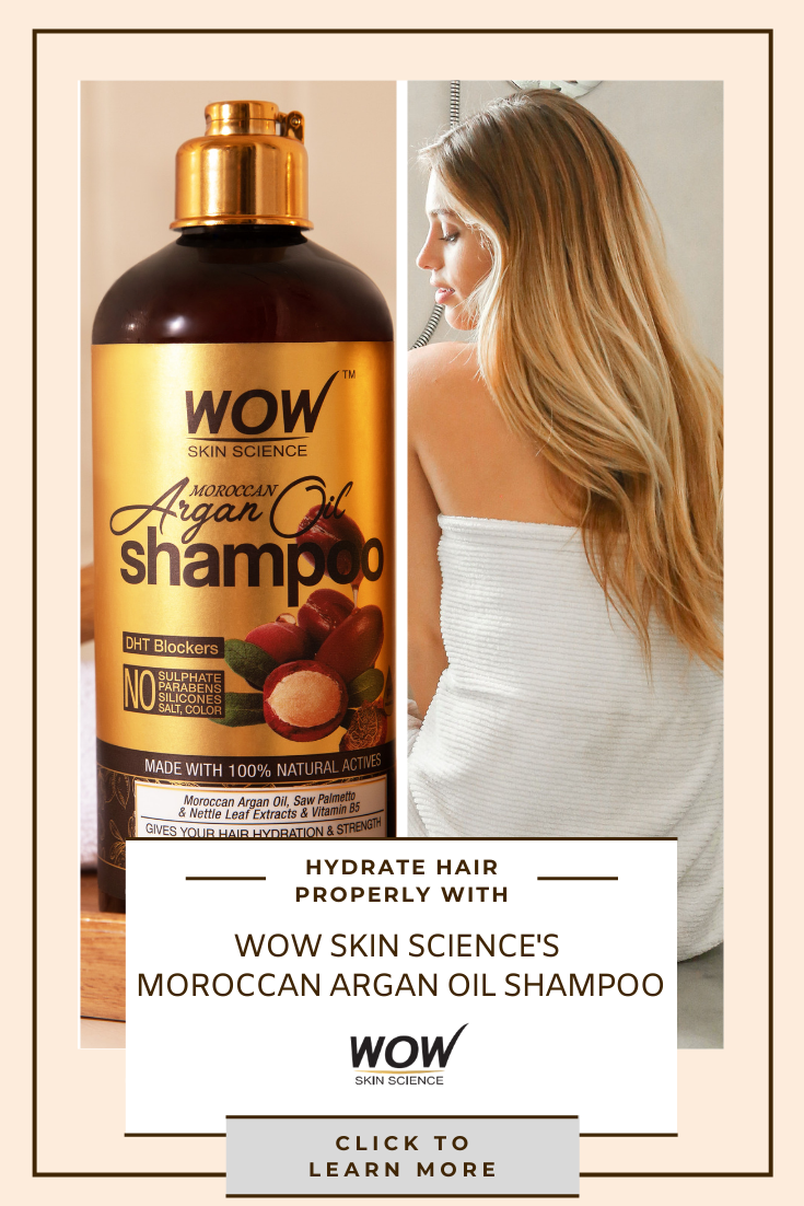Hydrate Scalp Hair Effectively With Wow S Moroccan Argan Oil Shampoo Moroccan Argan Oil Shampoo Argan Oil Shampoo Oil Shampoo