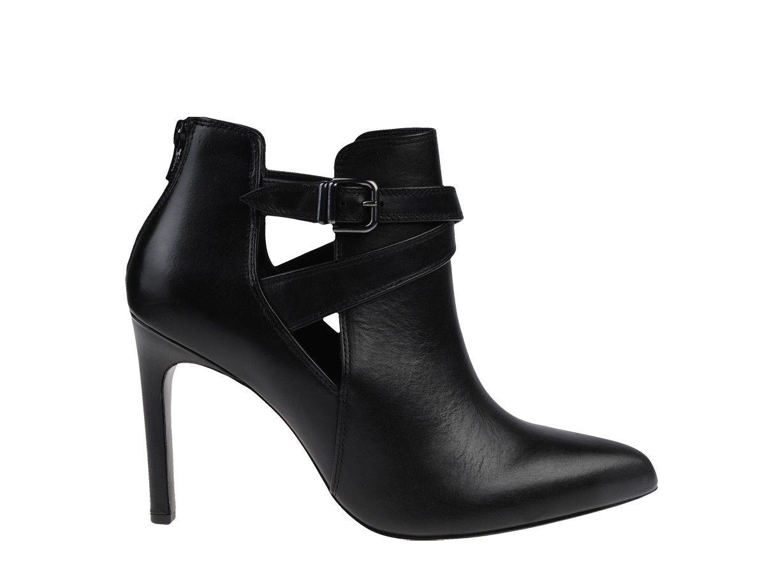 Noir choux HOGLbijoux Boots femme cailloux genoux nP80kXwO