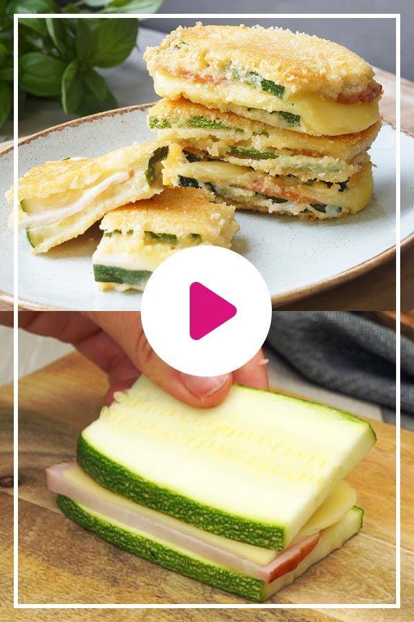 Zucchini-Cordon bleu - so einfach geht's | LECKER
