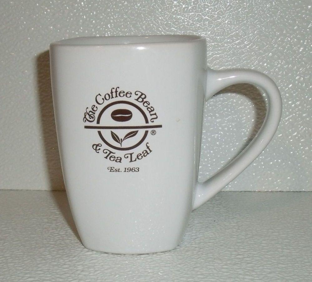 Www Jaedasplaythings Com Coffee Bean Tea Leaf Mug Cup 4 75 Est 1963 White Coffeebean Coffee Beans Tea Leaves Mugs