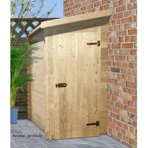 Abri à Vélos En Bois Adossable | Garage | Pinterest | Wooden Pallets,  Pallets And Storage