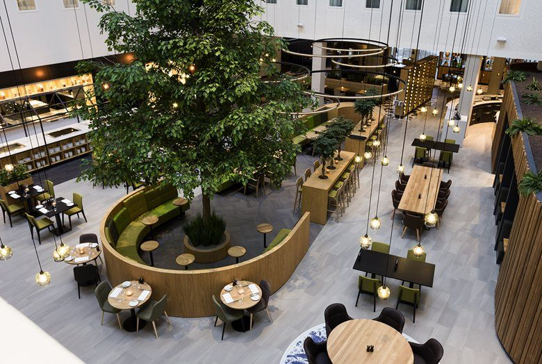 Novotel amsterdam schiphol airport picture gallery for Oficinas inditex barcelona
