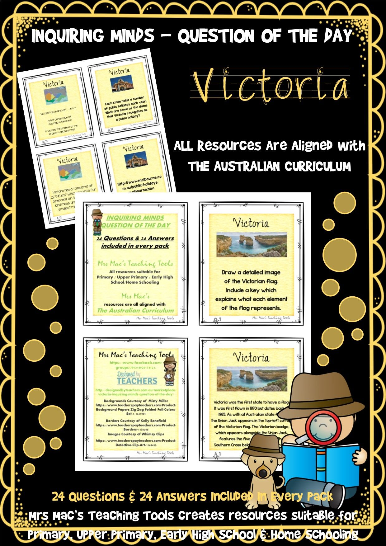 Victoria Australia Inquiring Minds Question Of The Day 24 Questions Amp 24 Answers Included In