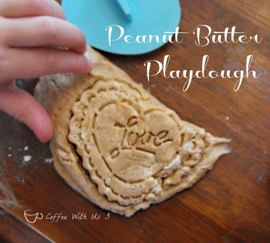Peanut Butter Playdough Is A Fun And Edible Kids' Activity