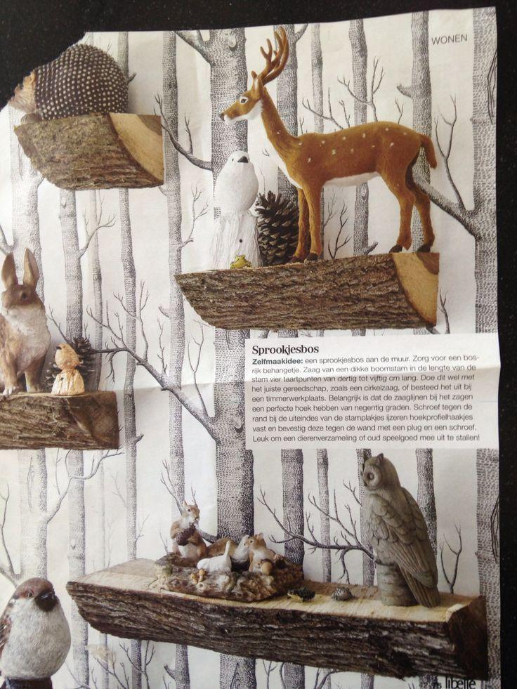 bos thema interieur - google zoeken - slaapkamer   pinterest - bos, Deco ideeën