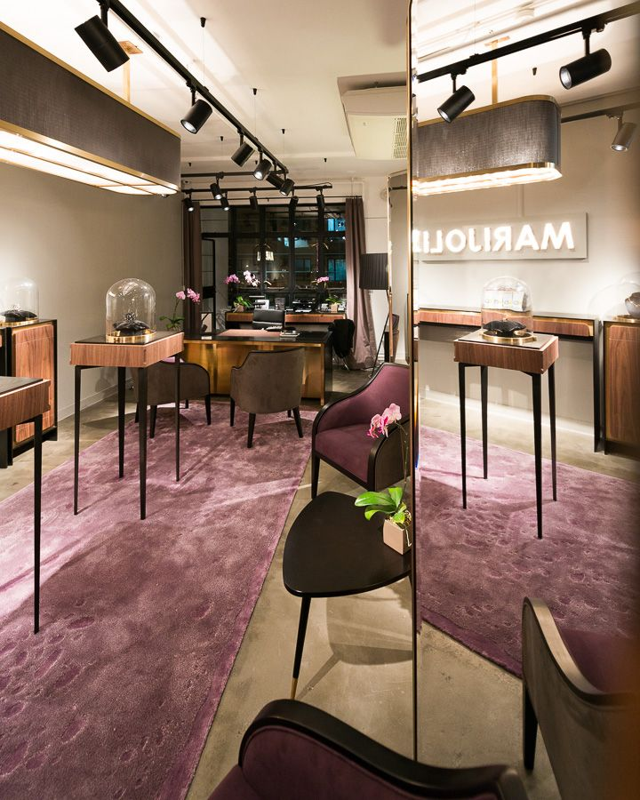 Home Design Ideas Hong Kong: MARIJOLI Store, PMQ, Hong Kong Design By In Situ
