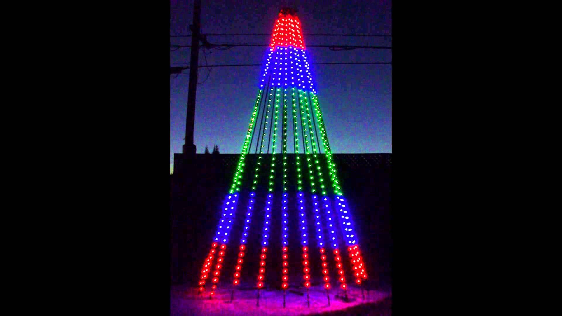 Elegant RGB Pixel Mega Tree Test. Christmas LightsChristmas DecorationsStrands