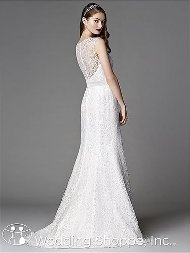 Timeless lace wedding dress. After Six Bridal Gown 1048 | Wedding ...