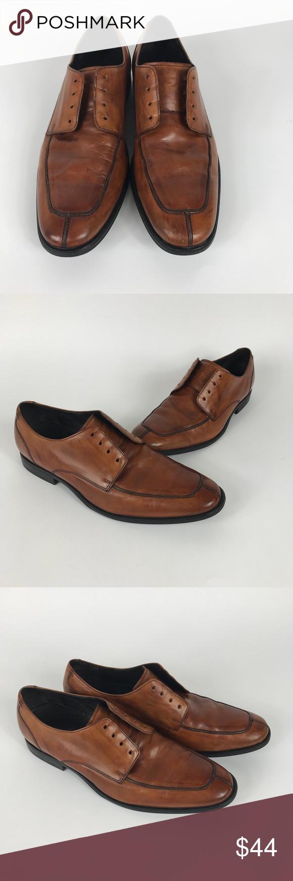 Cole Haan NikeAir Brown Oxford Dress Shoes Sz 10M