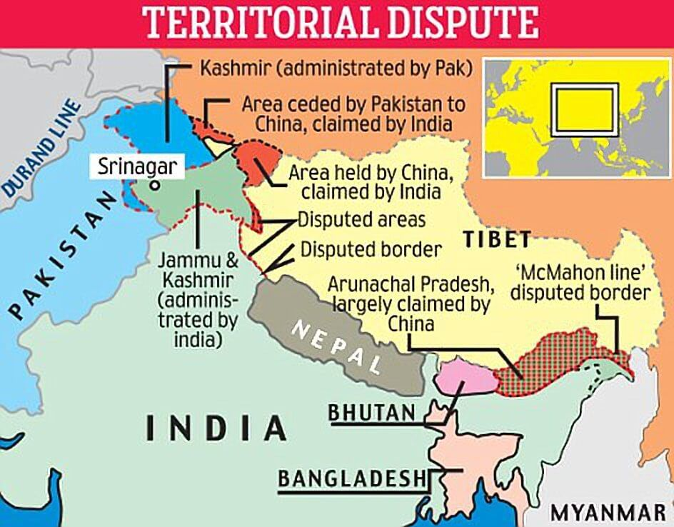 IndiaChina Border Disputes What is the Doklam Issue