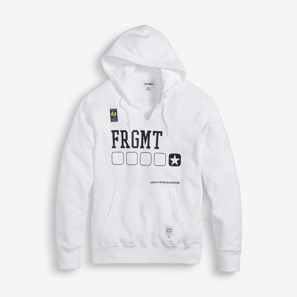 finest selection 84190 7171b Converse x fragment design Essentials Mens Hoodie Size