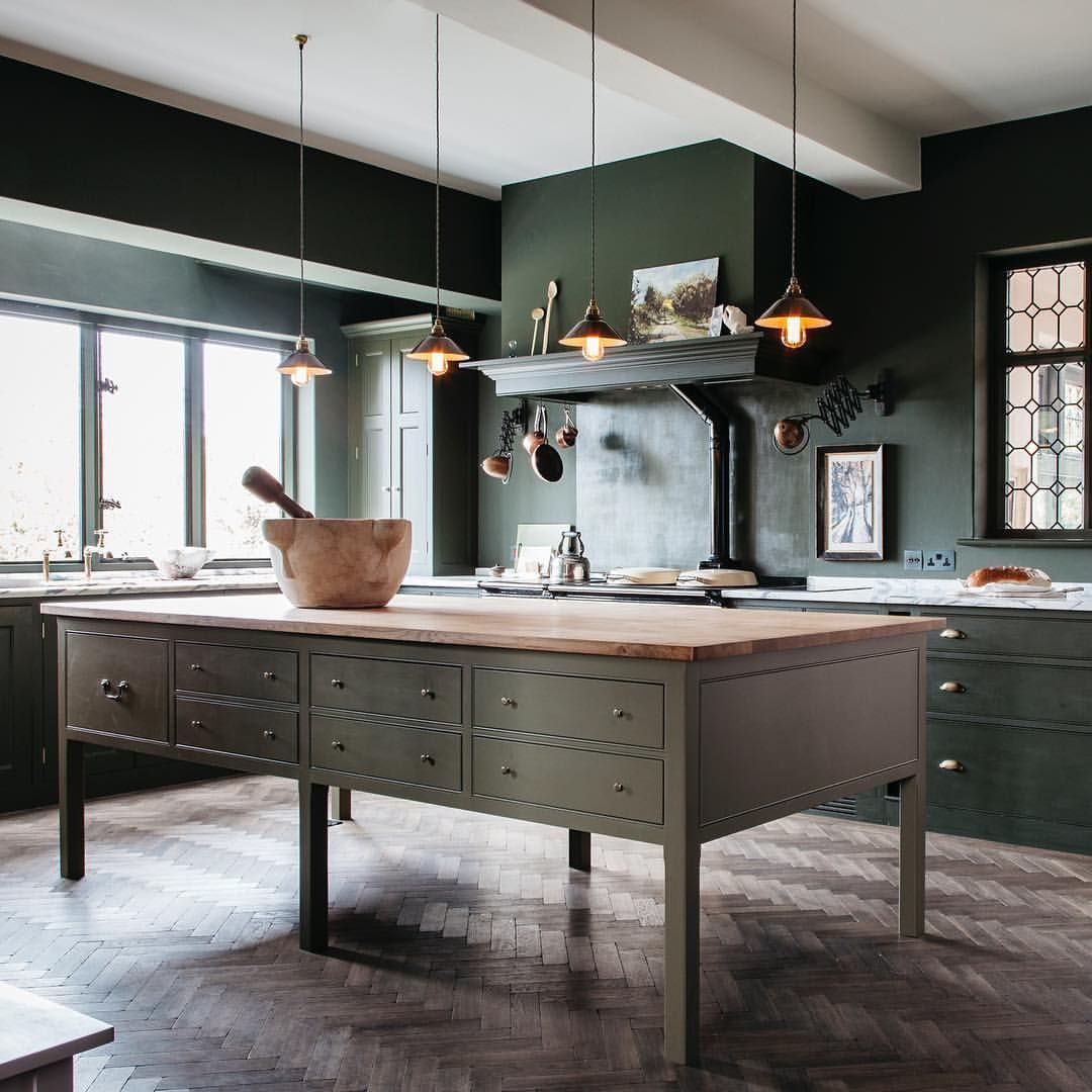 Dark Green Kitchen: Pin By Lindsay Forde On NEW KITCHEN