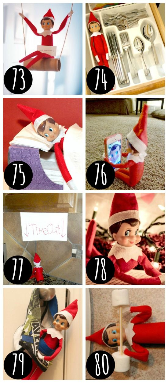 Silly Places To Hide Your Elf Elf On The Shelf For Gaby