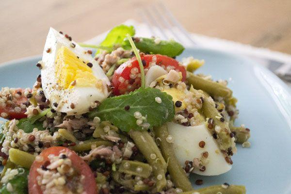 Salade nicoise au quinoa