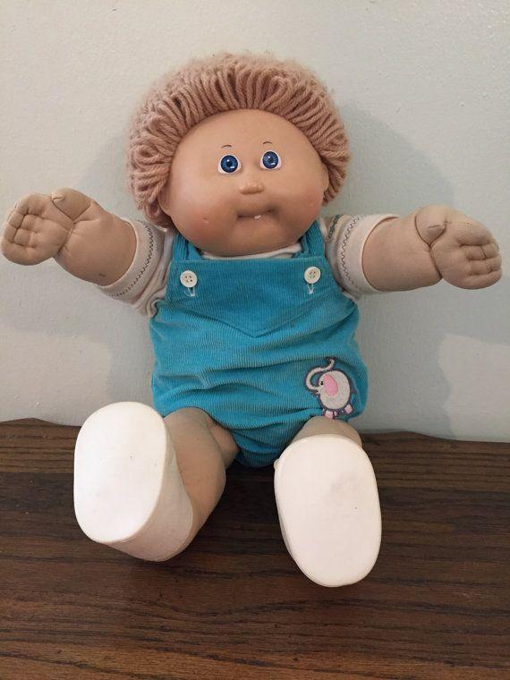 Rare Vintage Cabbage Patch Kids Doll Luke By Sillyflyvintage Cabbage Patch Kids Dolls Cabbage Patch Kids Patch Kids